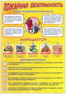 3. Пожарная безопасность